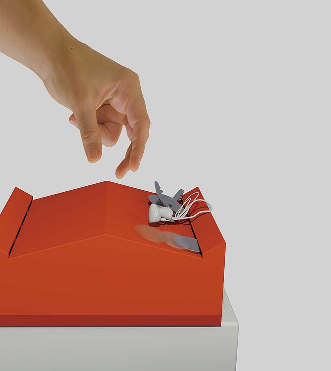 Piggy Bank Which Coin Can Automatically Slide Into | Red Dot Design Award