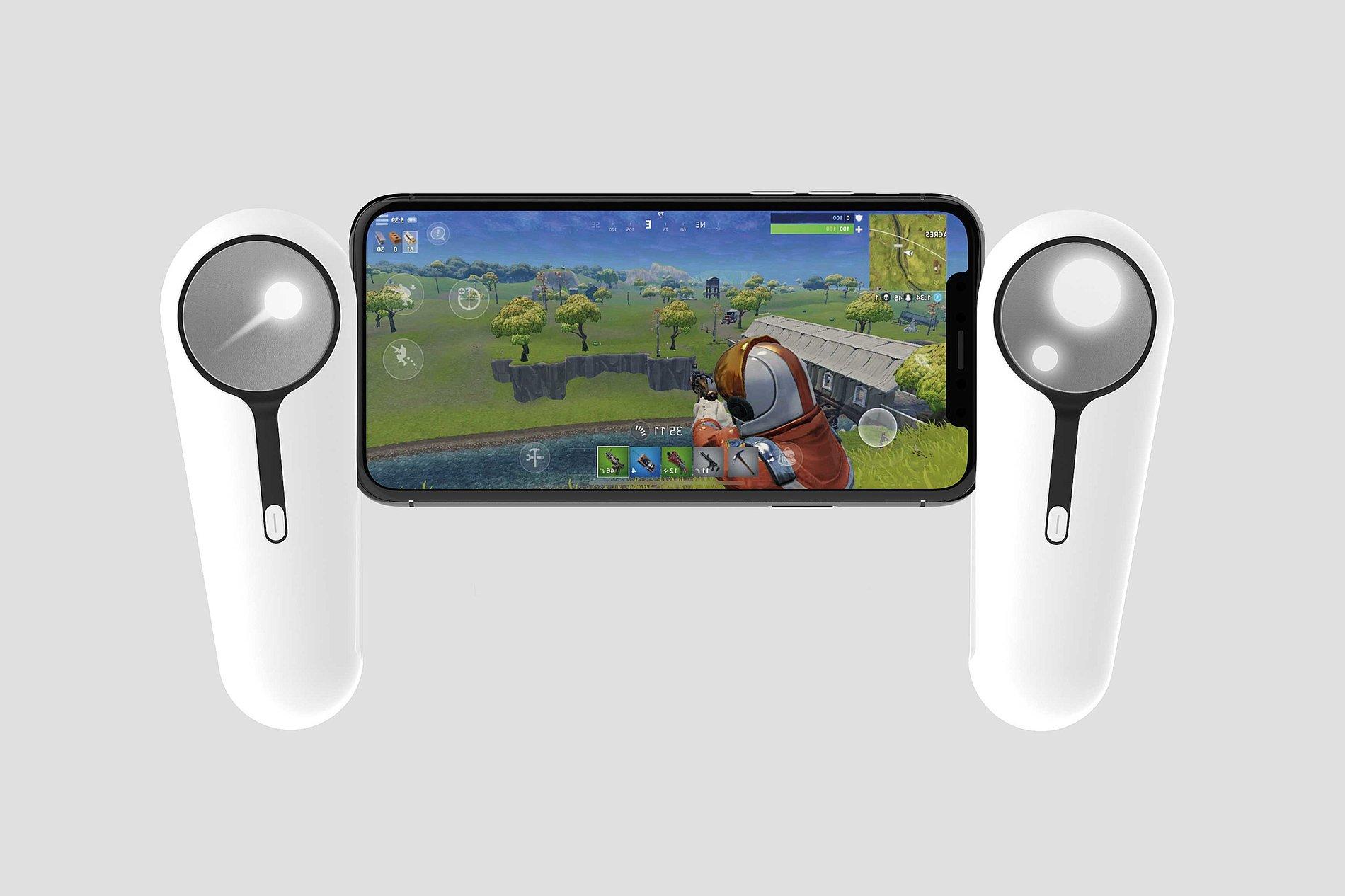 LumiControl - Smartphone Game Controller | Red Dot Design Award