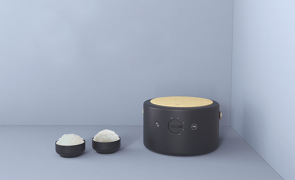 15° Rice Cooker | Red Dot Design Award