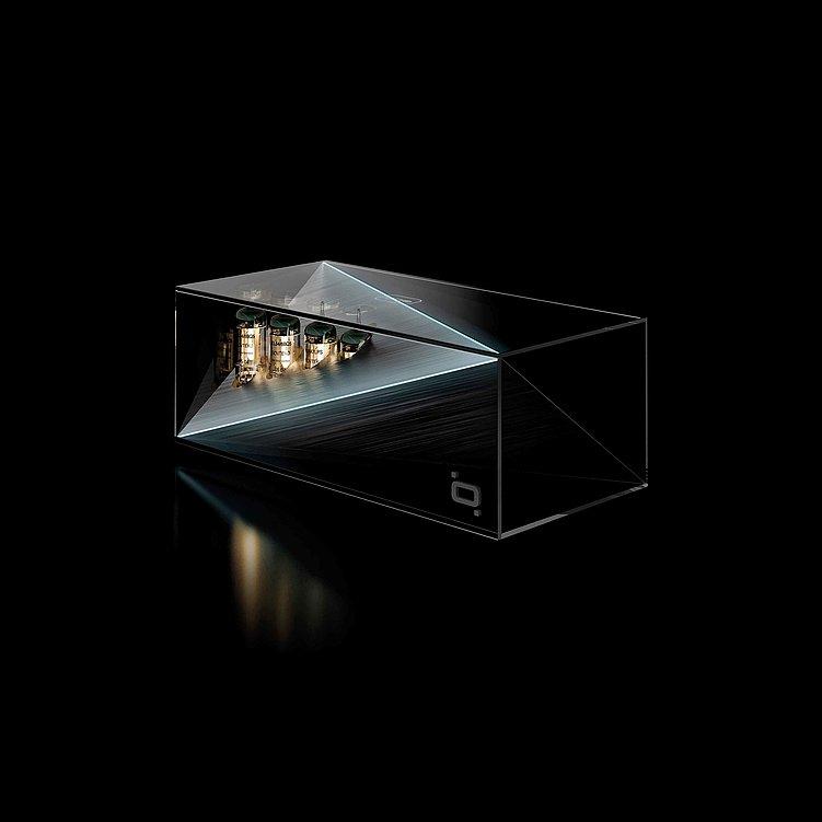 Qoobi ONE / Wireless Tube DAC Pre-Amp | Red Dot Design Award