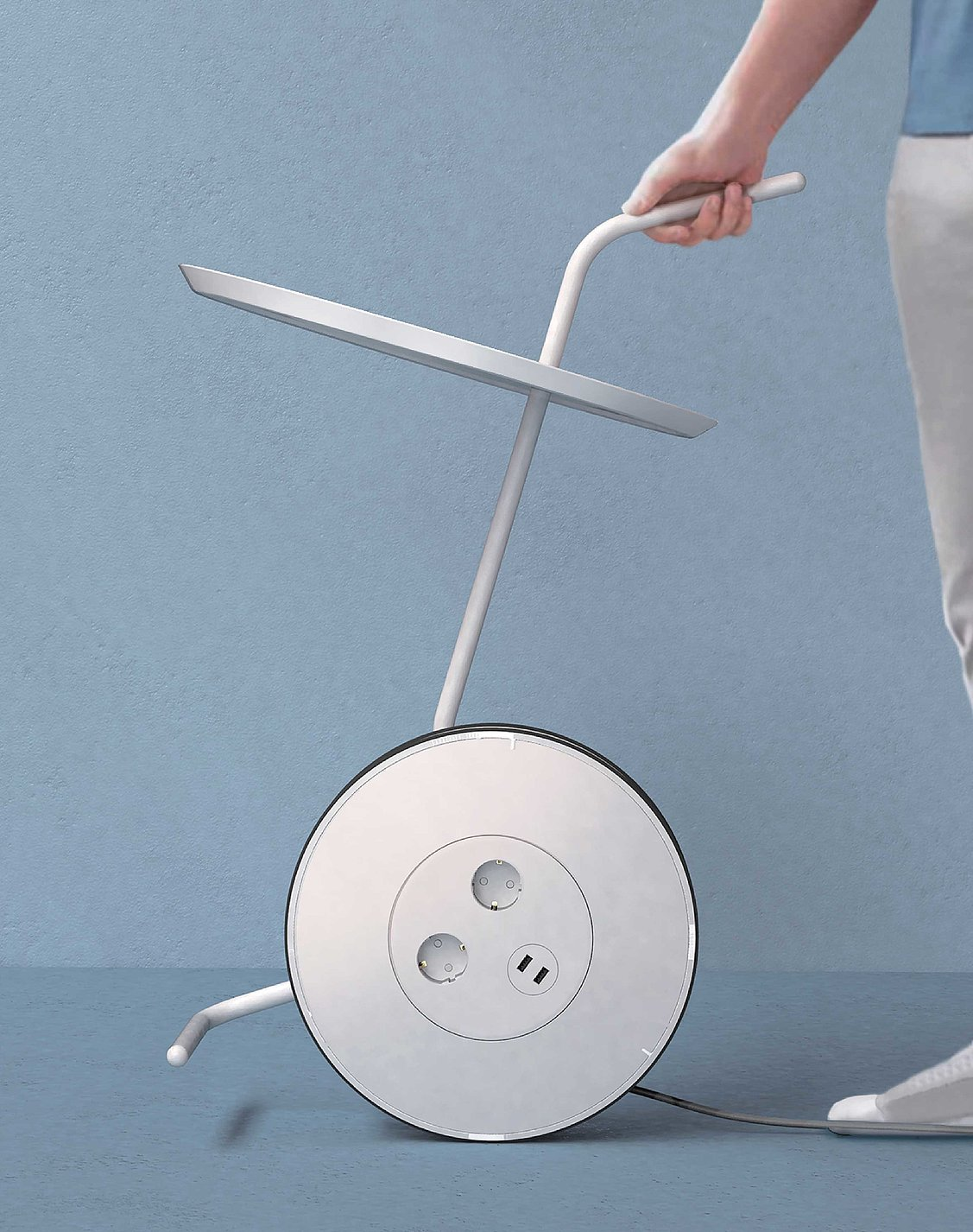 Cord Reel Table | Red Dot Design Award