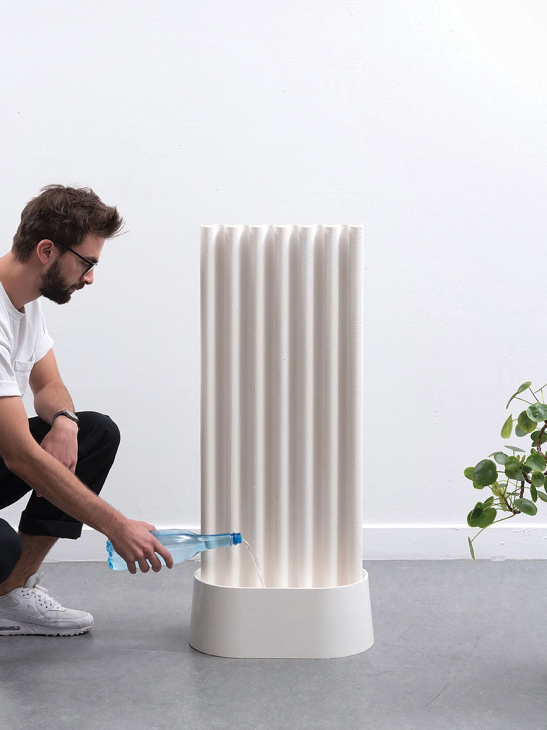 The Paper Clay Air-Humidifier | Red Dot Design Award