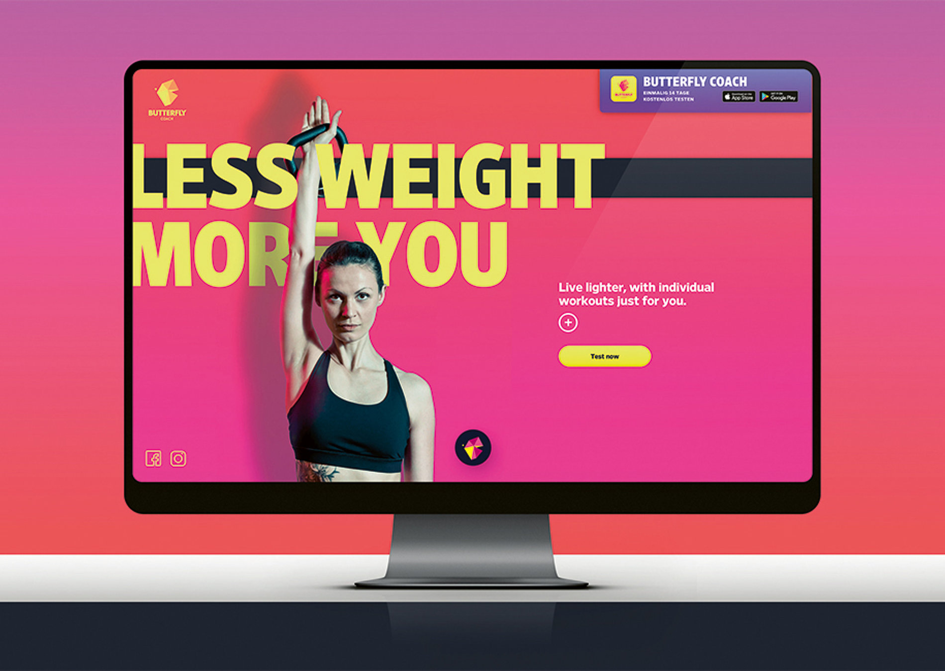 Butterfly Coach – Your Most Personal Trainer | Red Dot Design Award