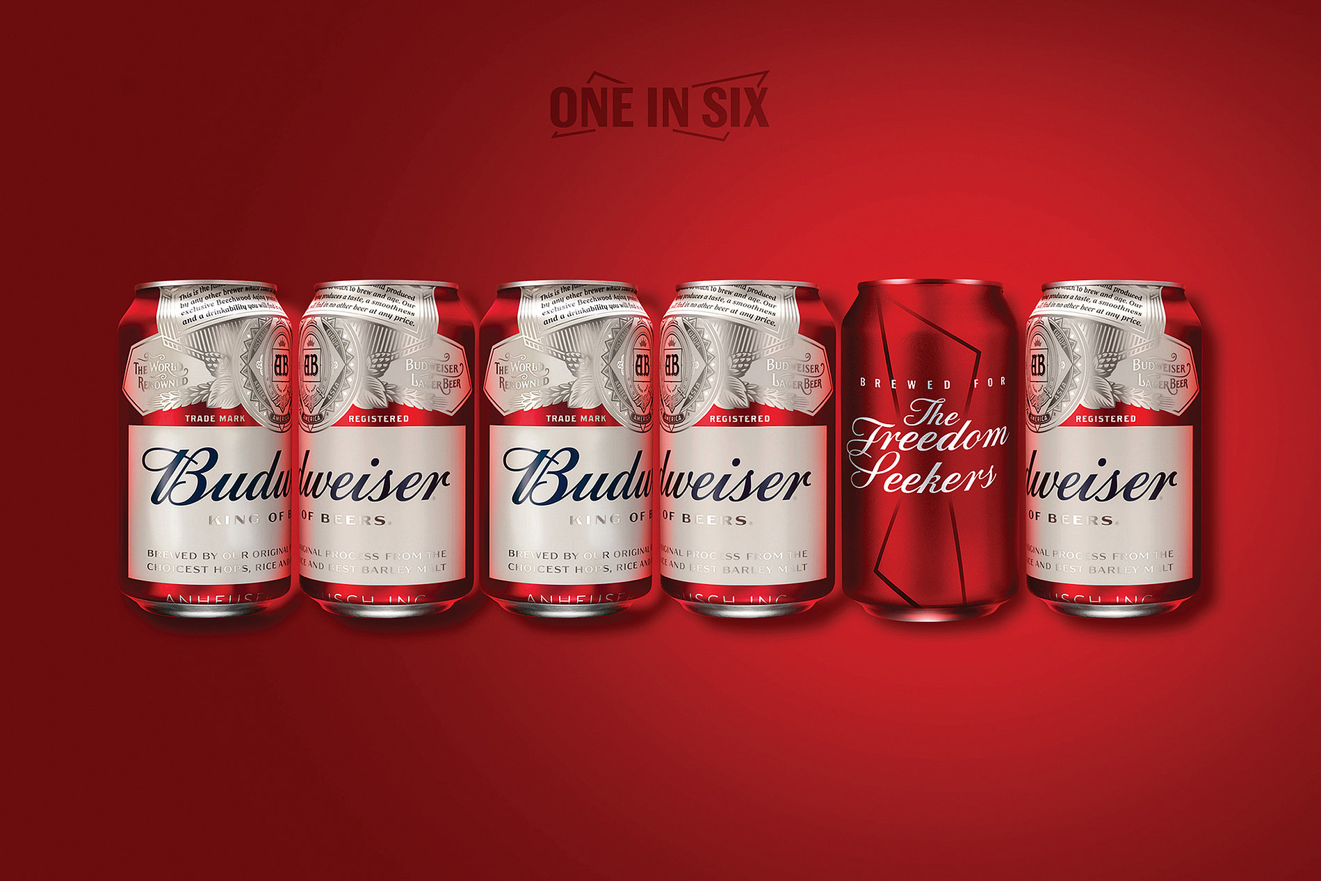 Budweiser One-in-Six | Red Dot Design Award