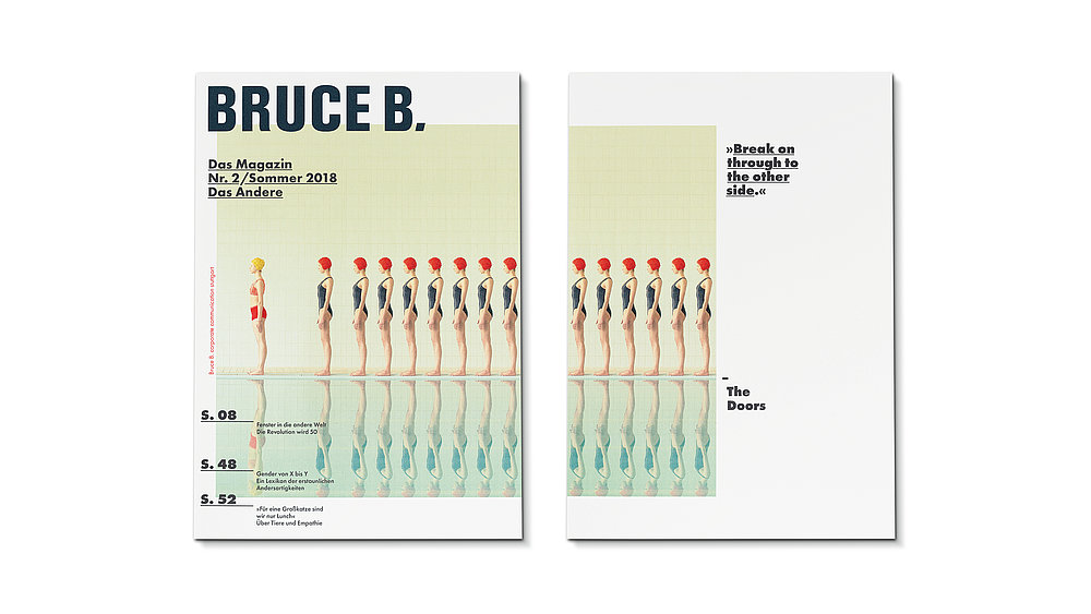 Bruce B. Magazine – No. 2 | Red Dot Design Award