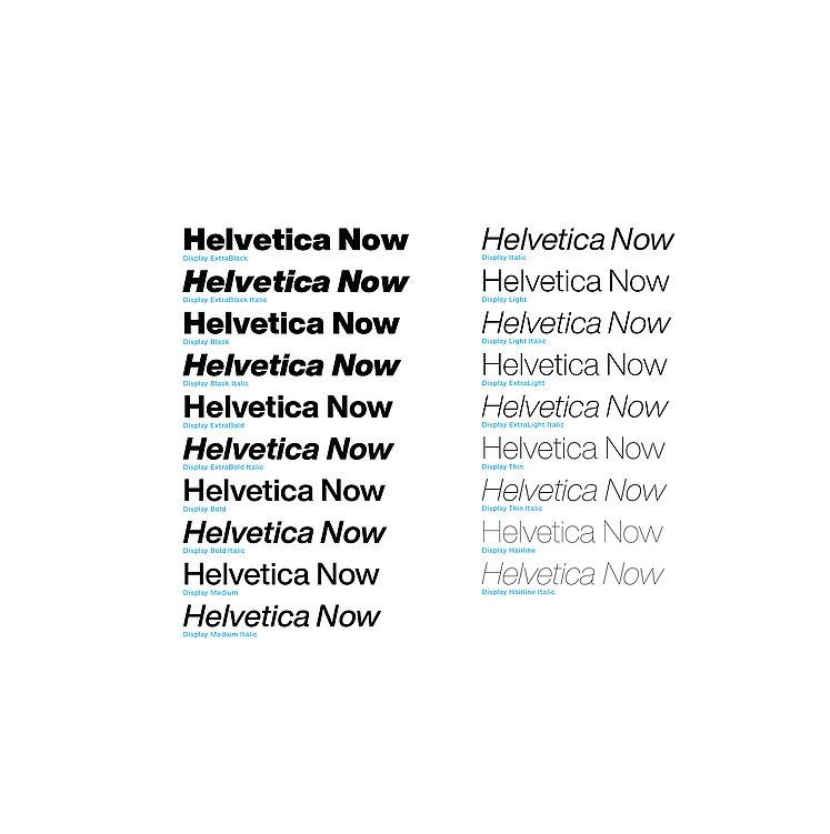 Helvetica Now | Red Dot Design Award