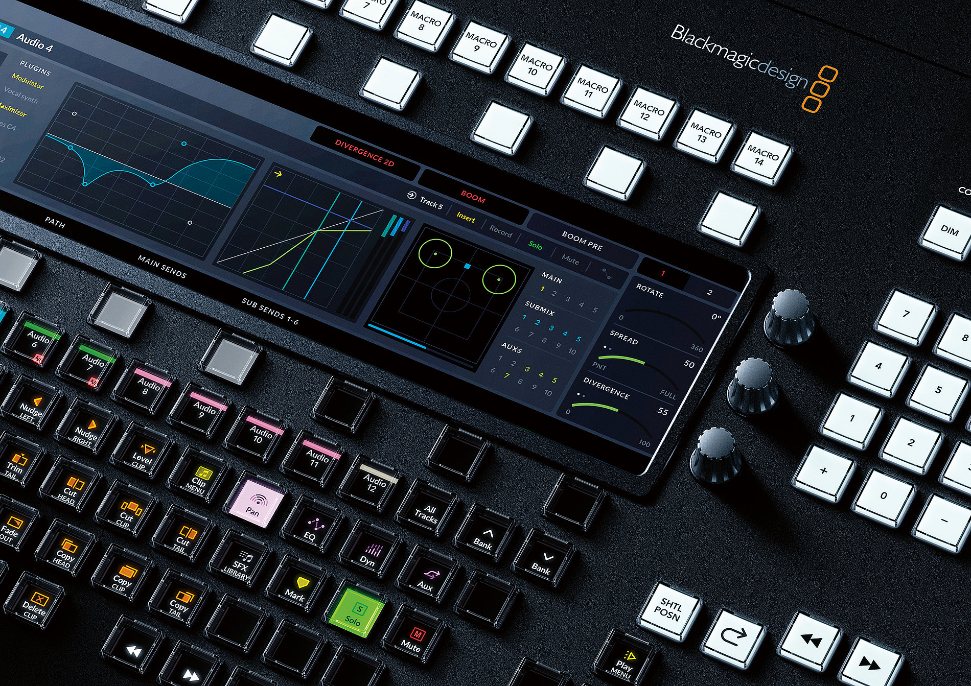 Fairlight Mixing Console | Red Dot Design Award