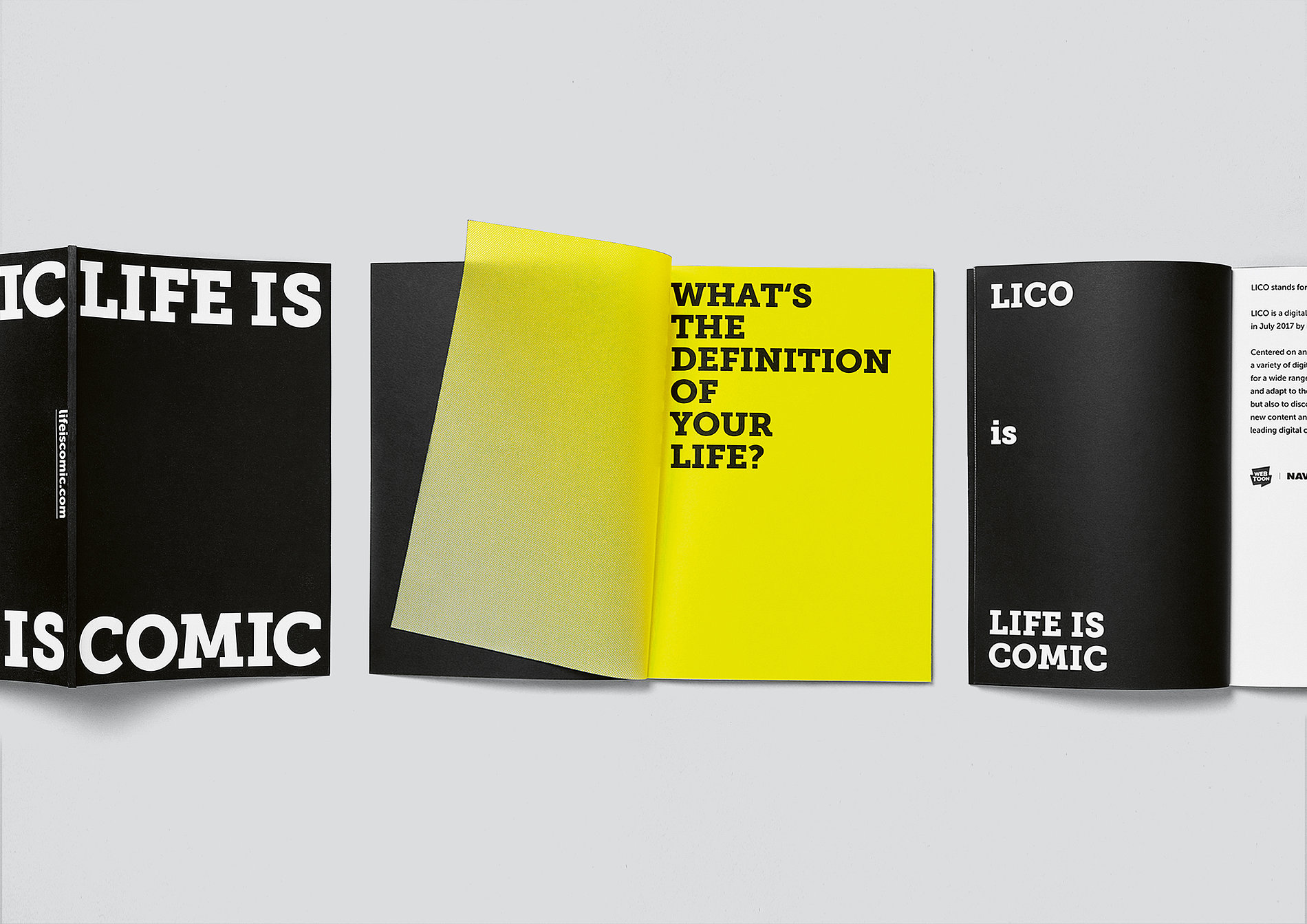 LIFE IS COMIC | Red Dot Design Award