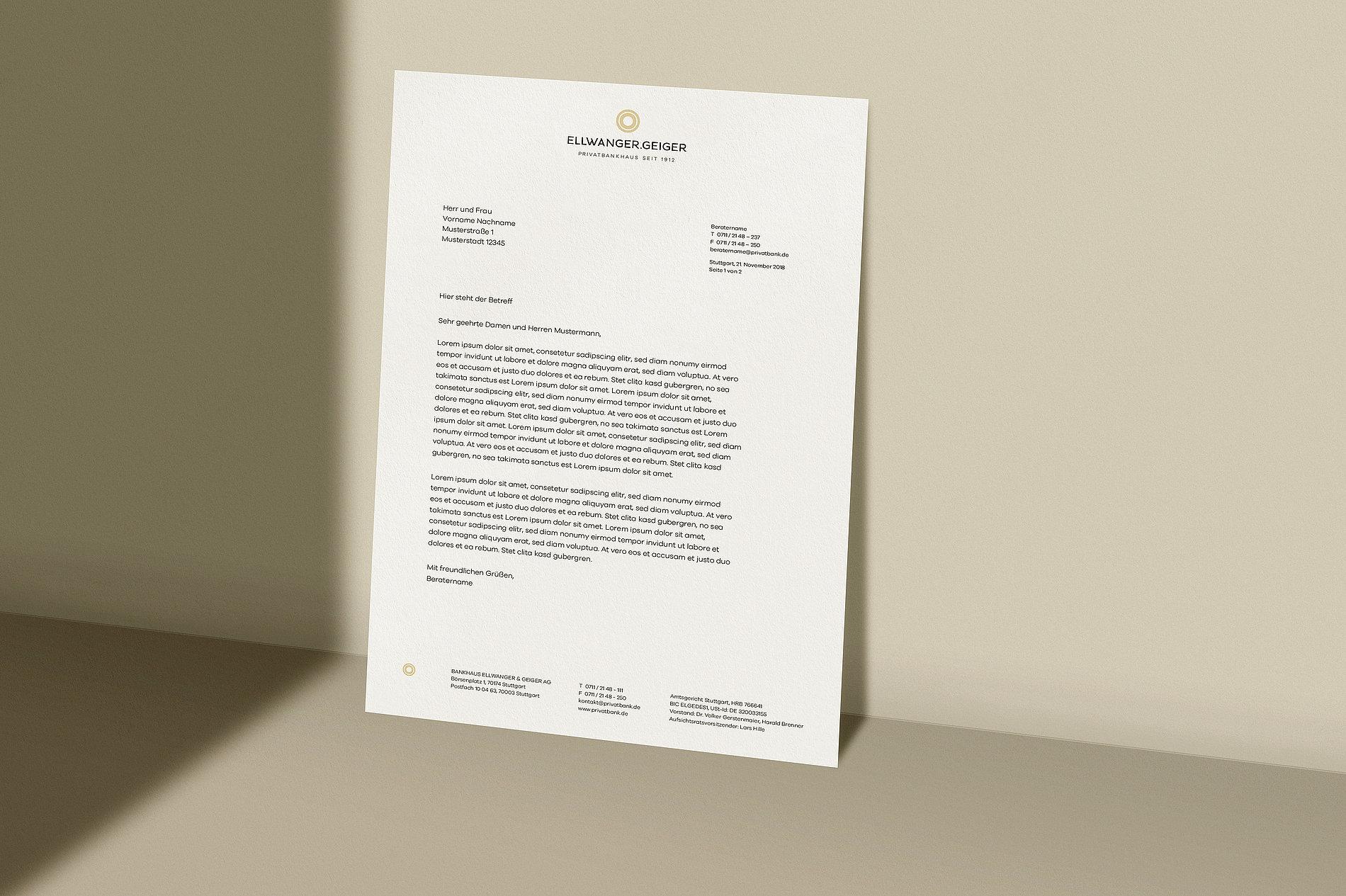 ELLWANGER.GEIGER | Red Dot Design Award