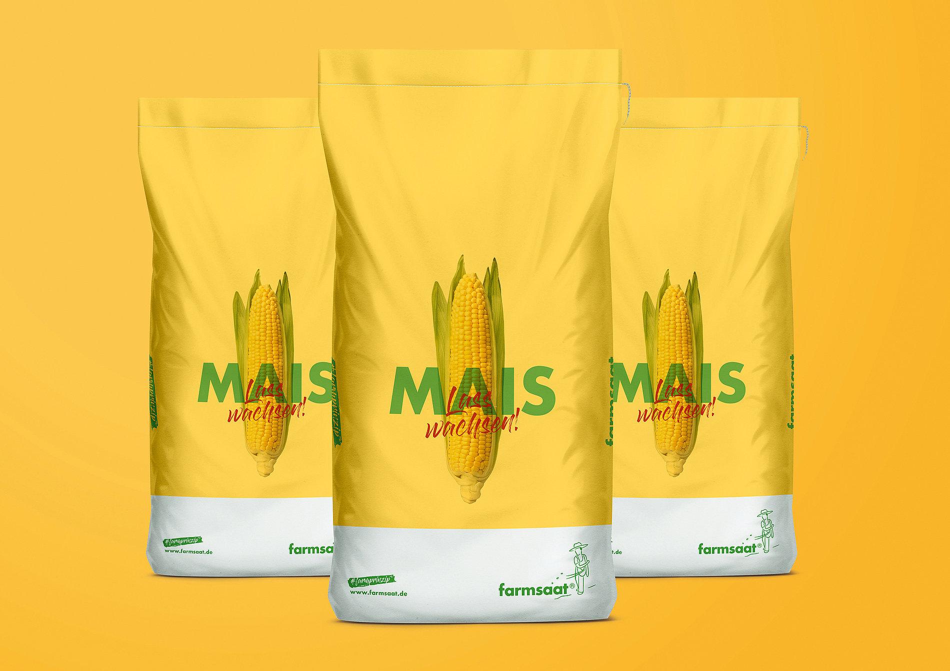 farmsaat – Natural born corn! | Red Dot Design Award