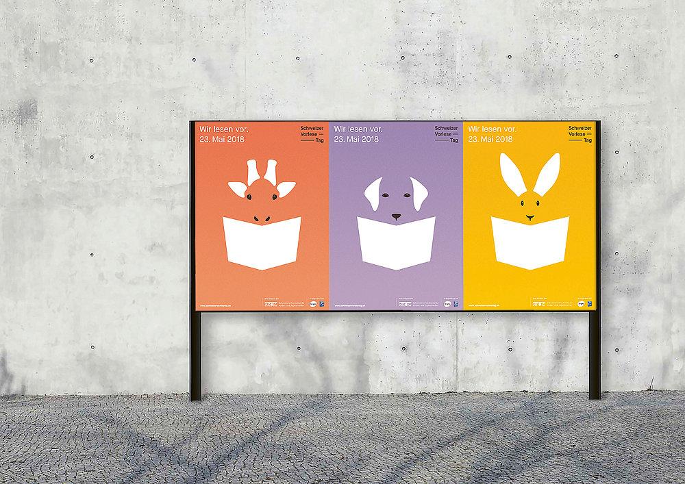 Swiss Day of Reading Aloud | Red Dot Design Award