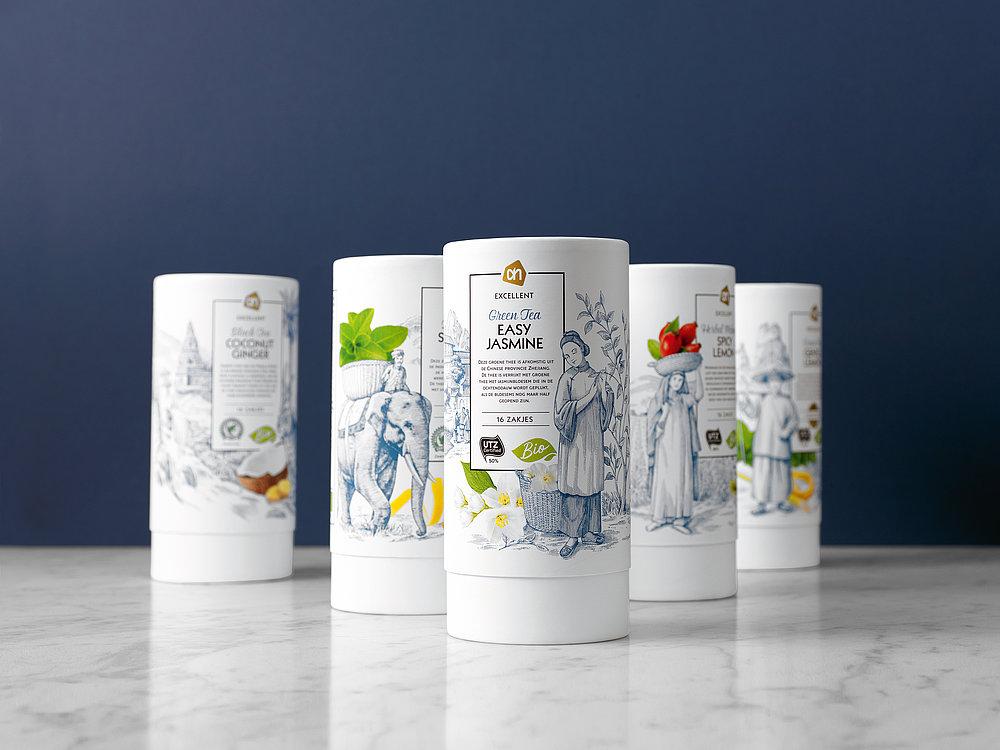Albert Heijn Excellent Tea | Red Dot Design Award
