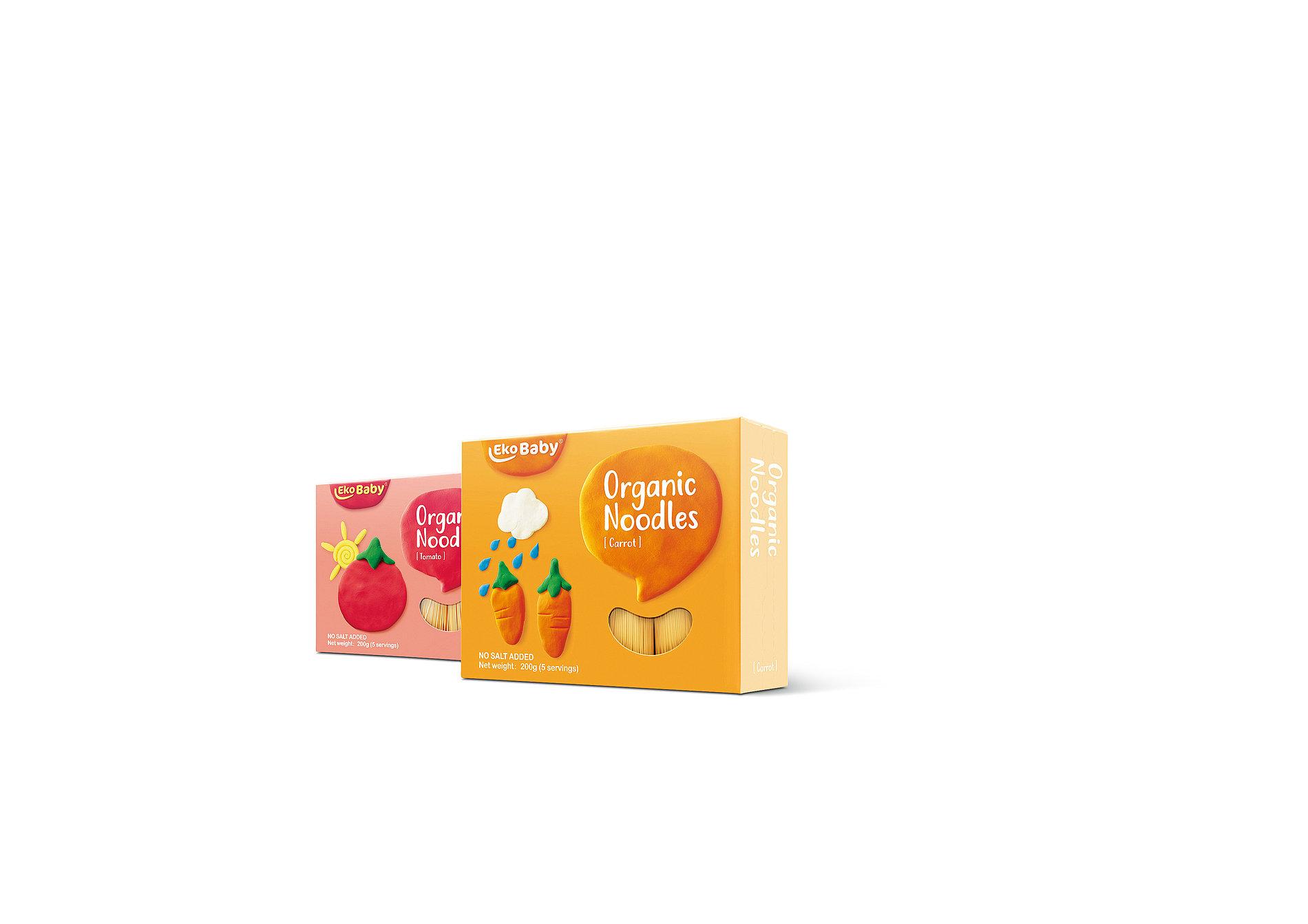 EkoBaby Organic Noodles | Red Dot Design Award