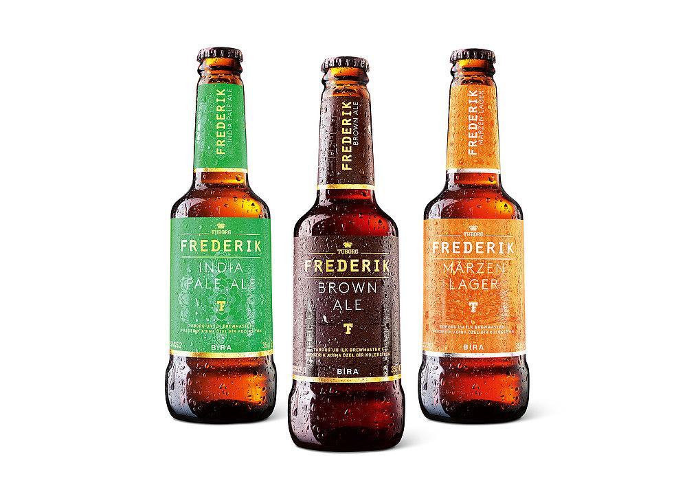 Tuborg Frederik Beer Series | Red Dot Design Award