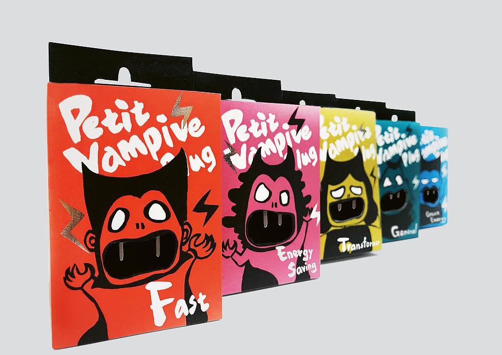 Petit Vampire Plug | Red Dot Design Award