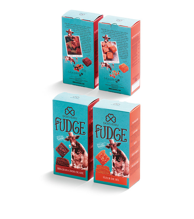 Skriveru saldumi – Fudge | Red Dot Design Award