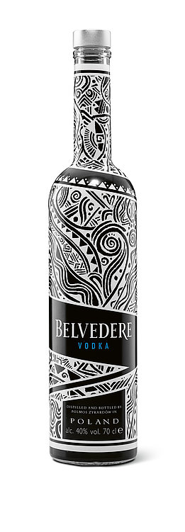 BELVEDERE VODKA – Laolu Senbanjo Edition | Red Dot Design Award