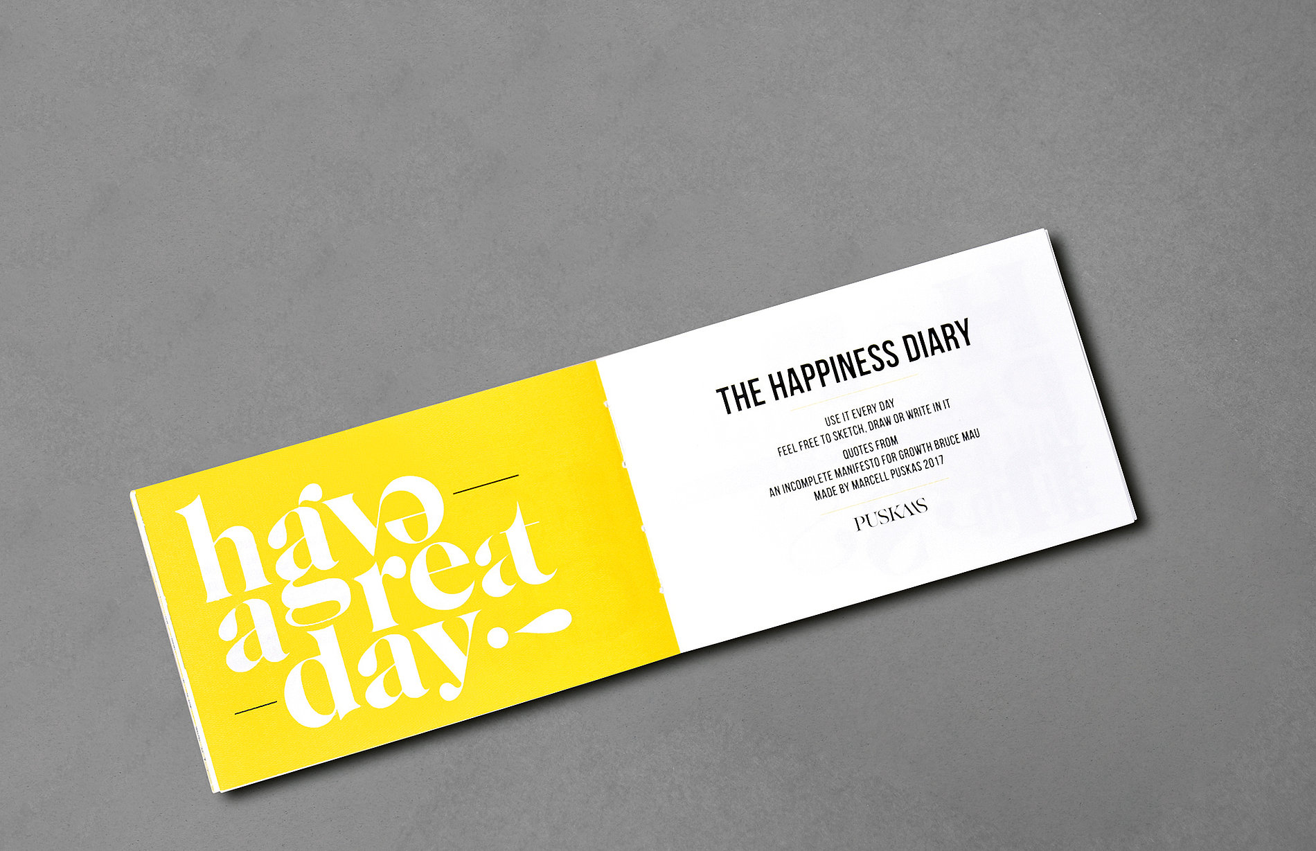 The Happiness Diary | Red Dot Design Award