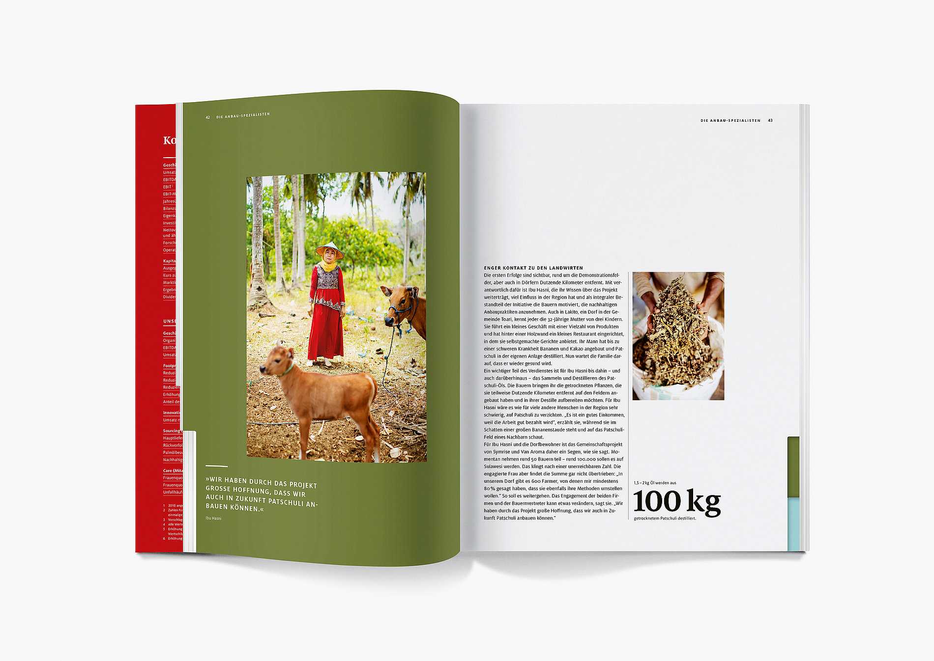 Symrise Annual Report 2018 | Red Dot Design Award
