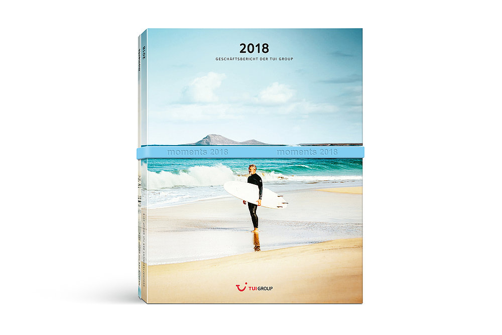 TUI Annual Report 2018 | Red Dot Design Award