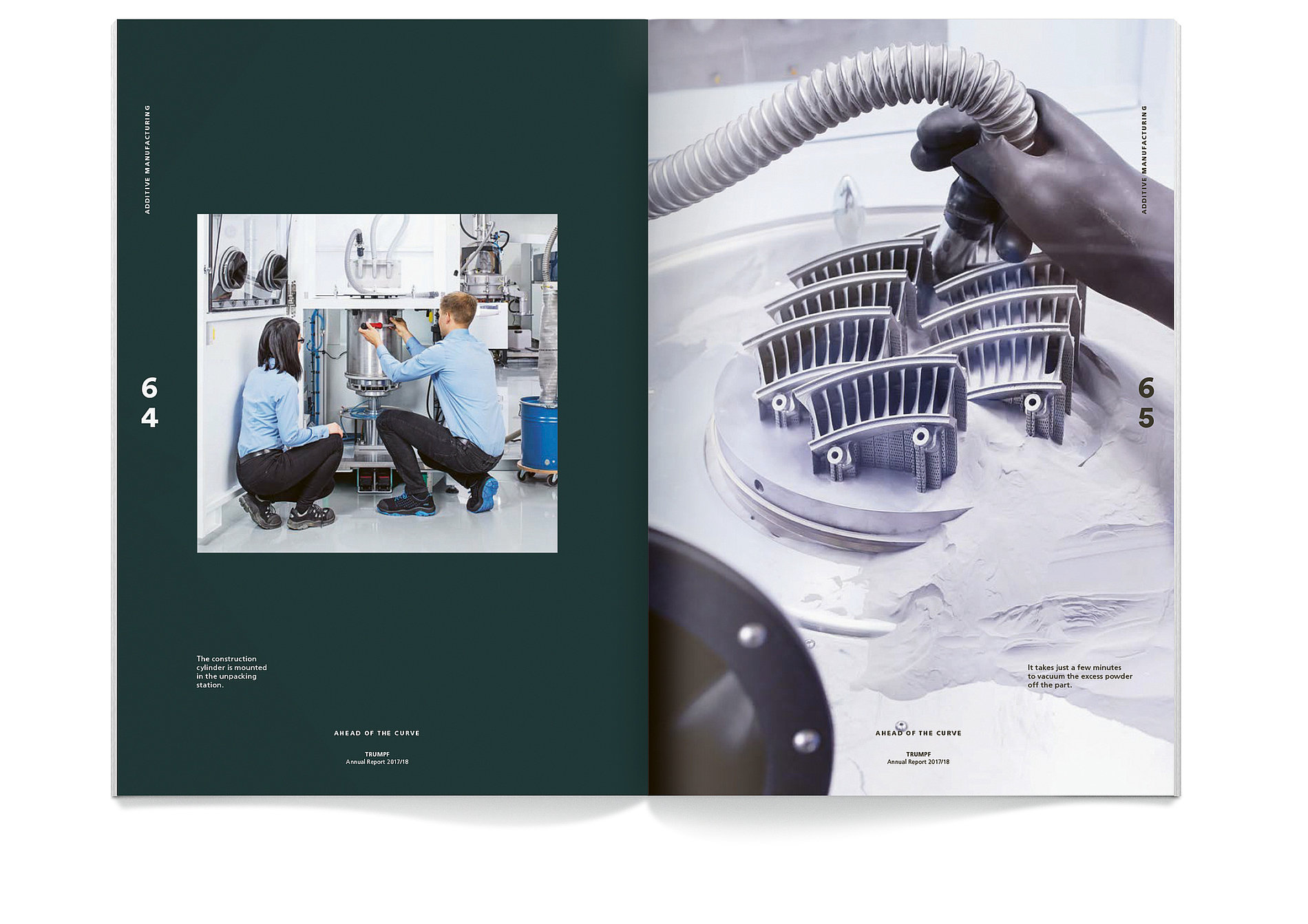 TRUMPF Annual Report 2017 / 2018 | Red Dot Design Award