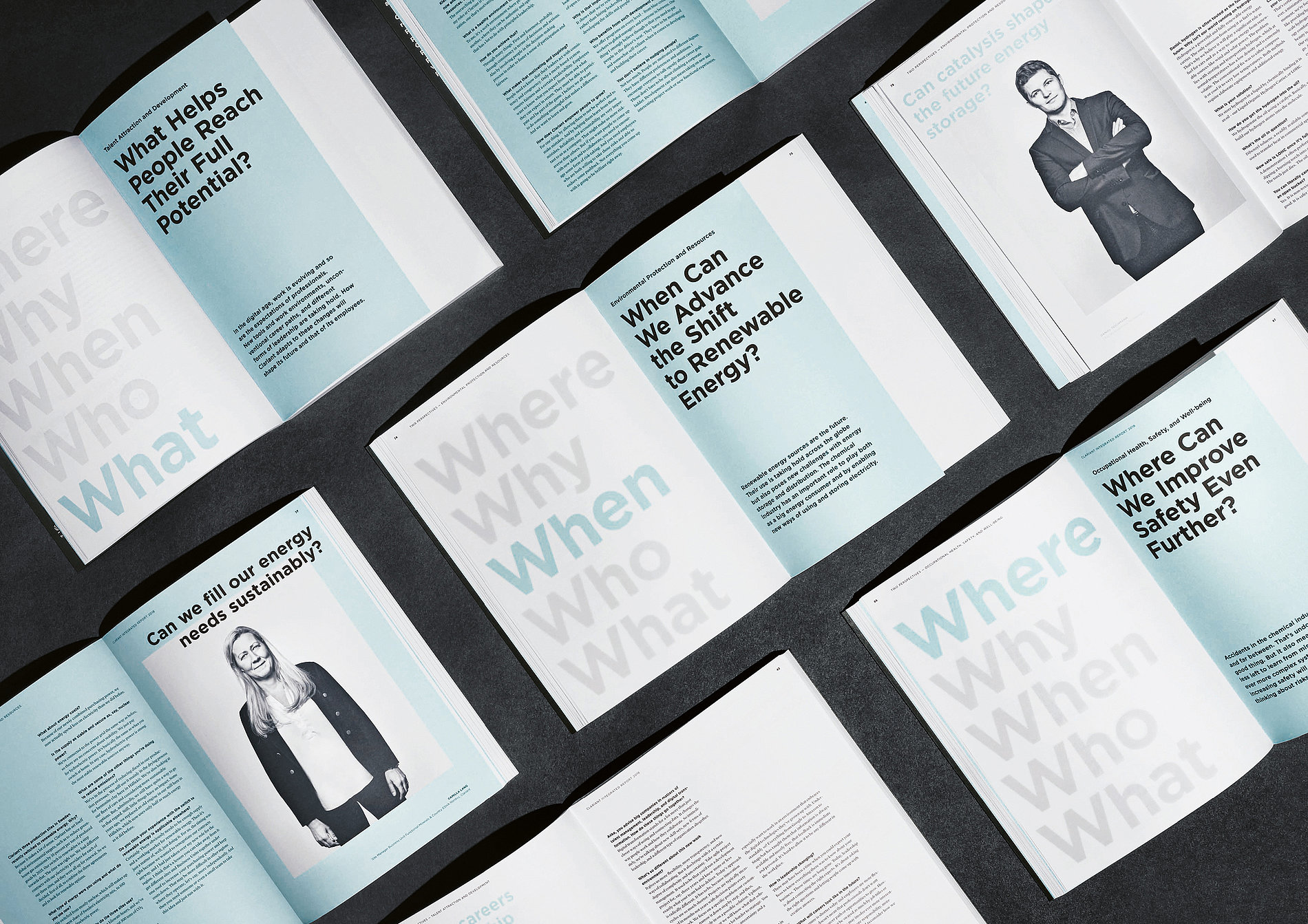 Clariant Integrated Report 2018 | Red Dot Design Award