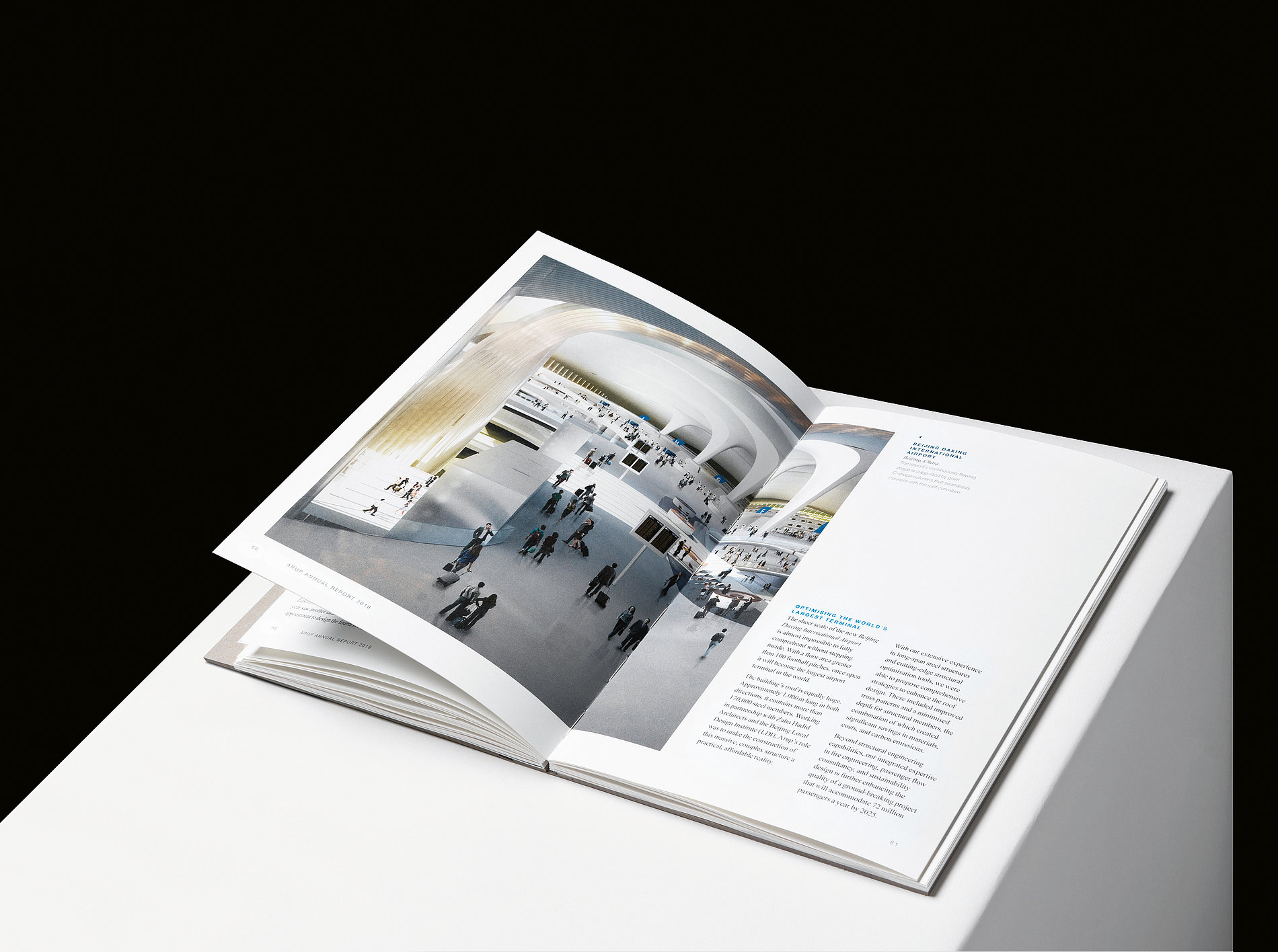 Arup Annual Report 2018 | Red Dot Design Award