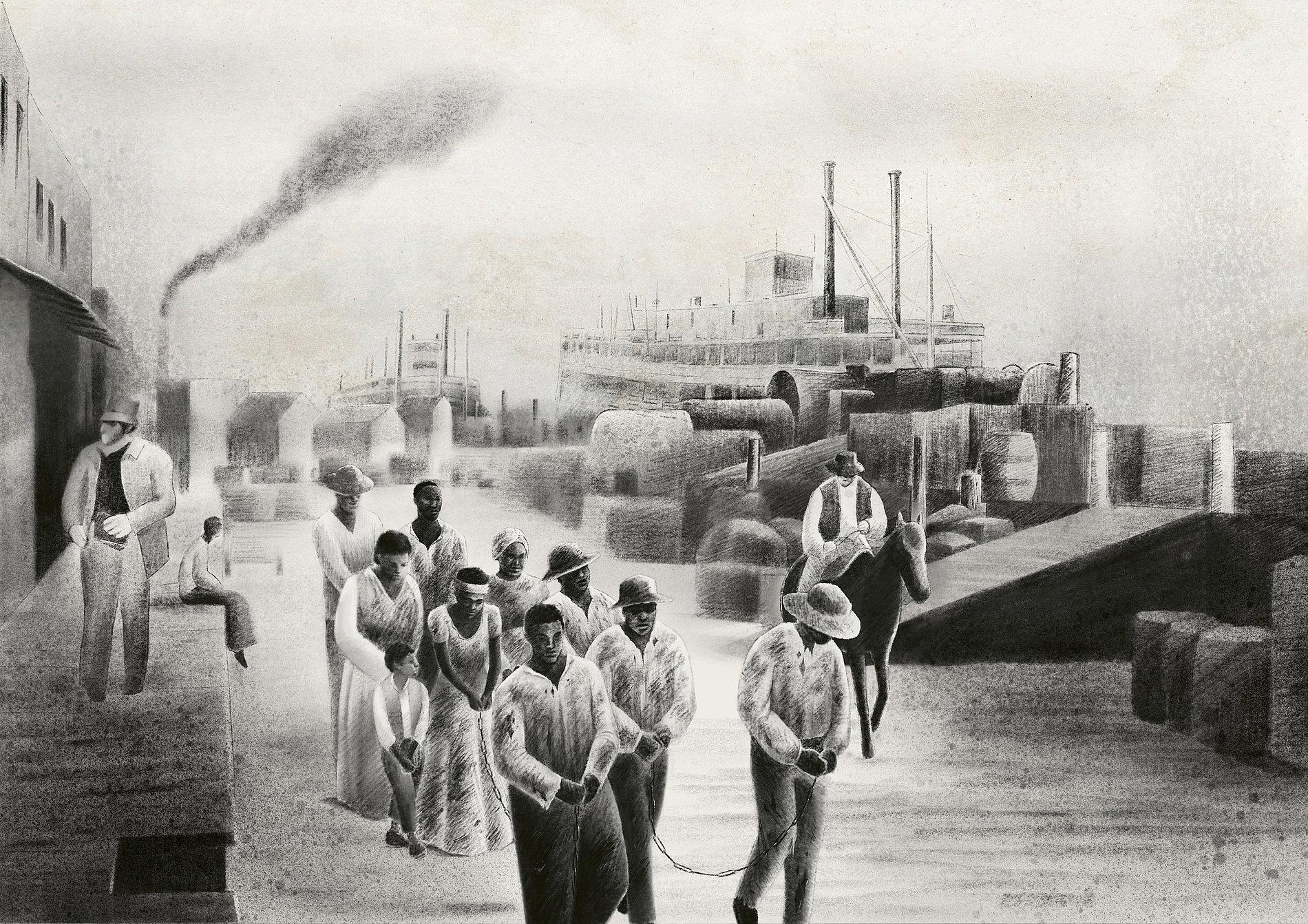 EJI Museum – Domestic Slave Trade Narrative | Red Dot Design Award