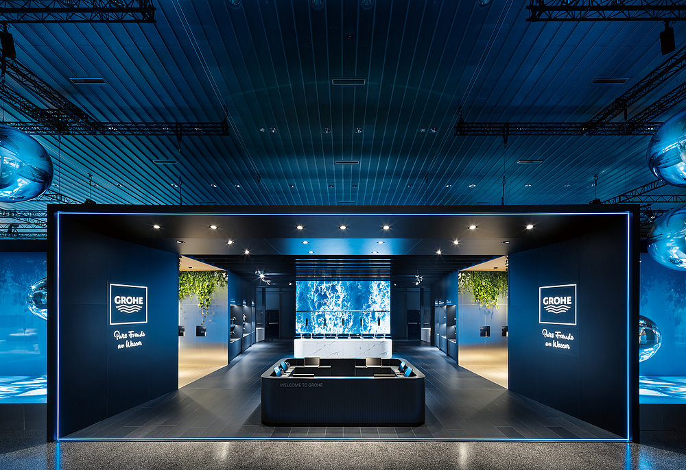 Grohe Fair Stand ISH 2019 | Red Dot Design Award