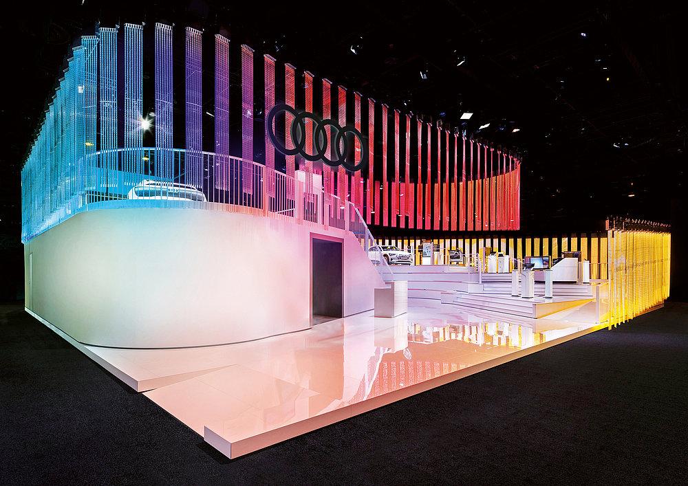 Audi Fair Stand CES Las Vegas | Red Dot Design Award