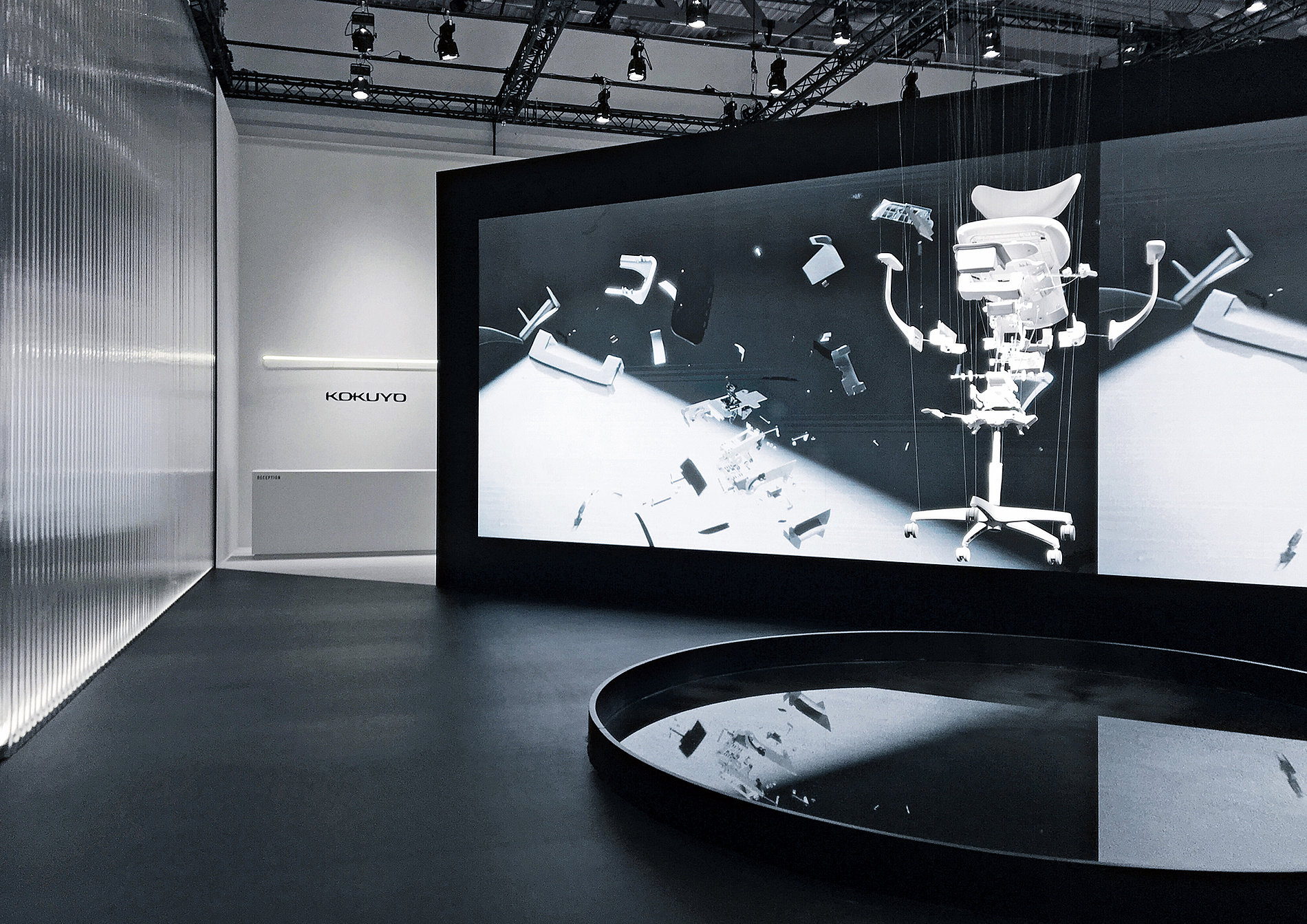 KOKUYO Fair Stand ORGATEC 2018 | Red Dot Design Award