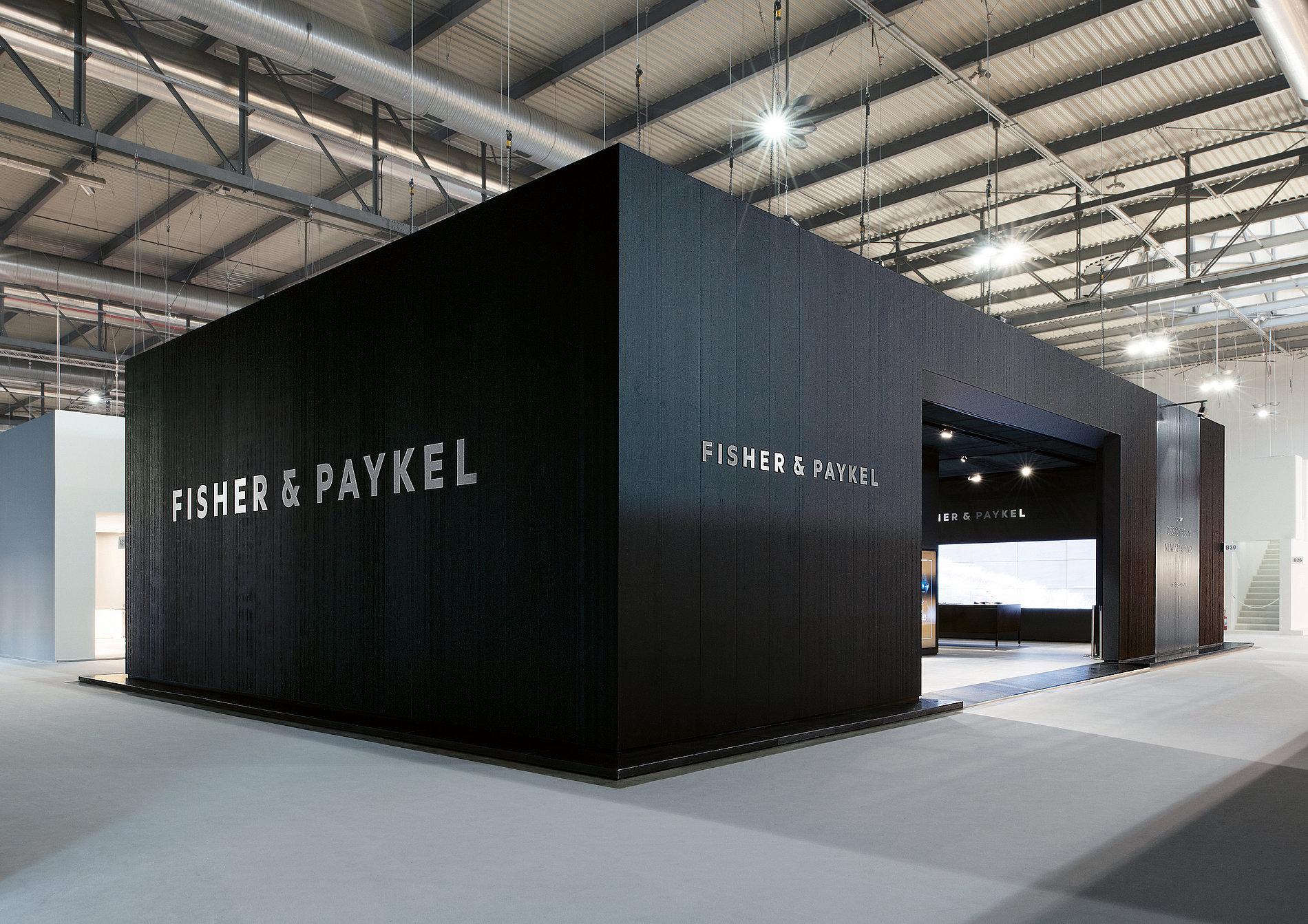 Fisher & Paykel Fair Stand EuroCucina Milan | Red Dot Design Award