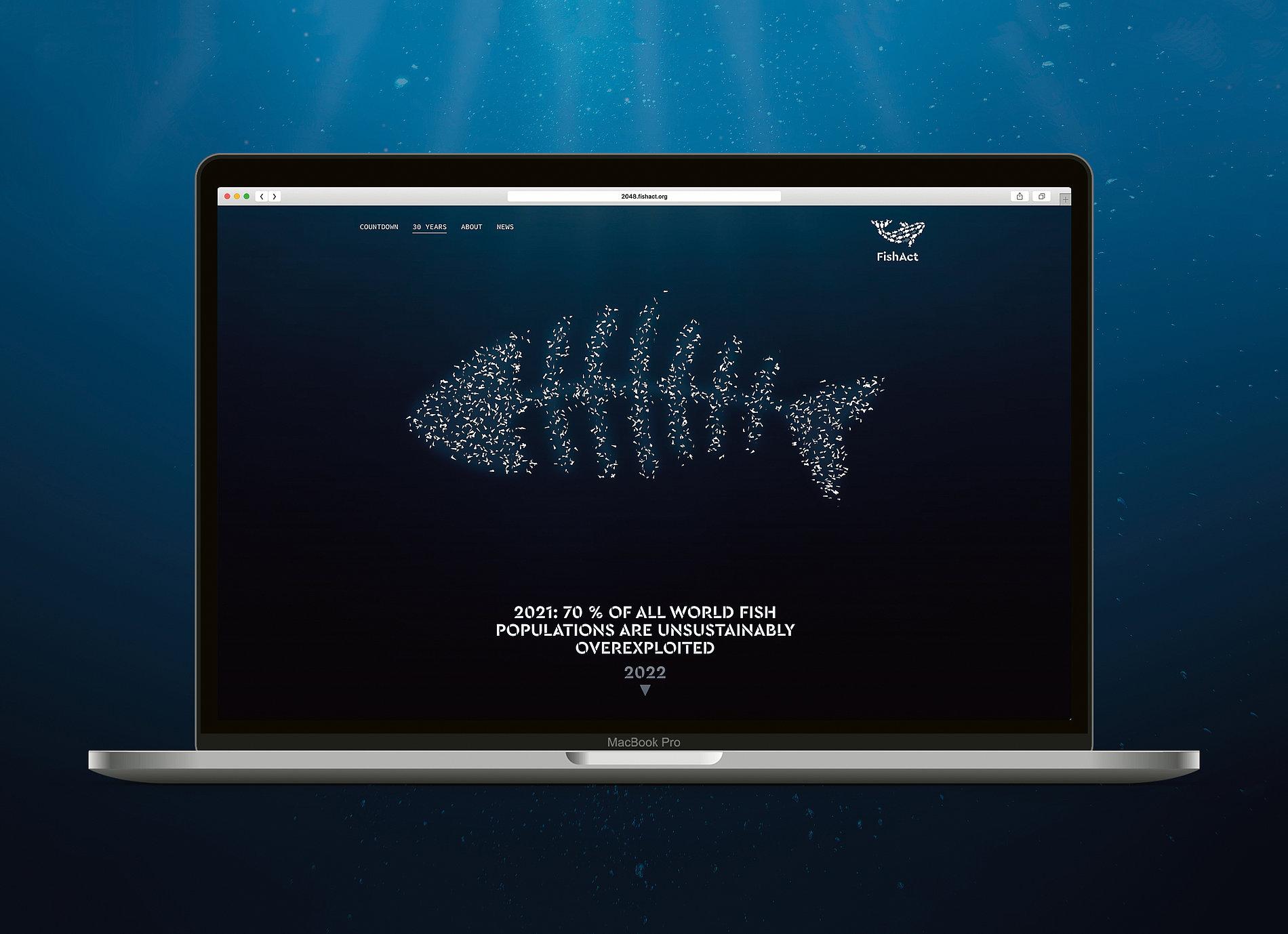 FishAct – Stop Overfishing | Red Dot Design Award