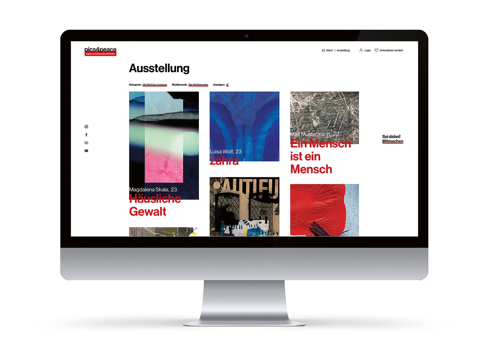 pics4peace | Red Dot Design Award