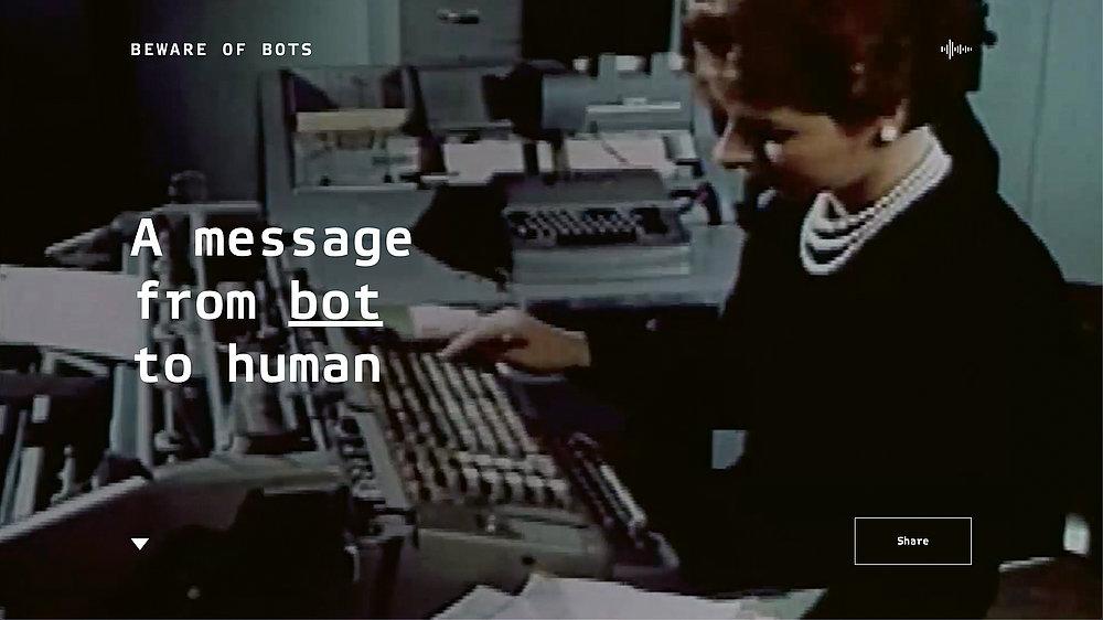 Beware of Bots | Red Dot Design Award