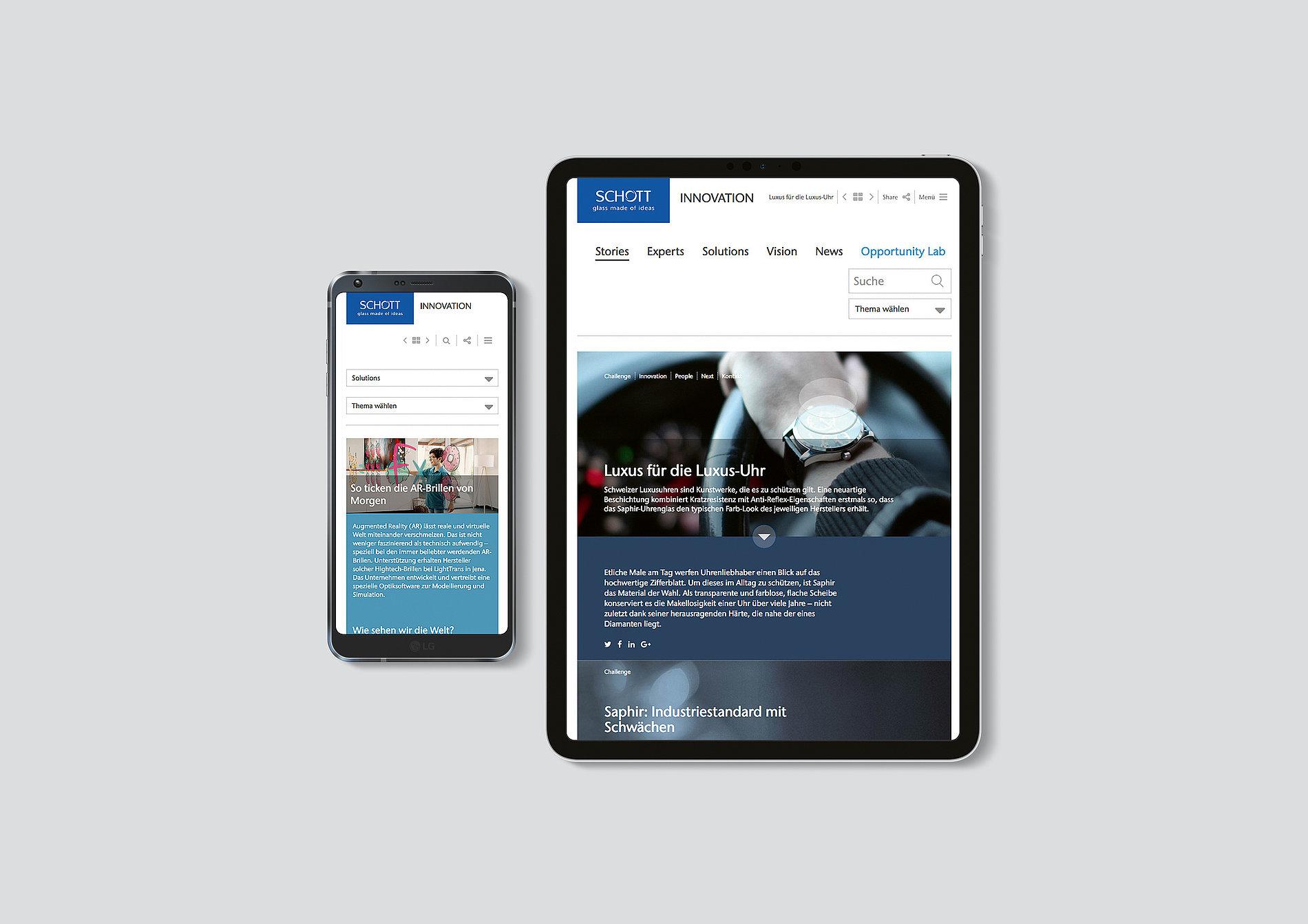 SCHOTT – Innovation Platform | Red Dot Design Award