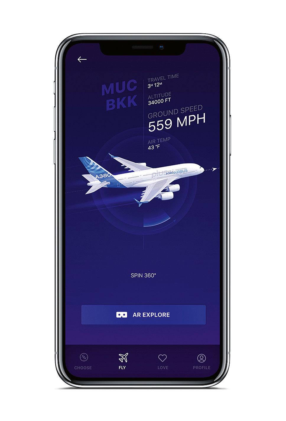 Airbus iflyA380 | Red Dot Design Award