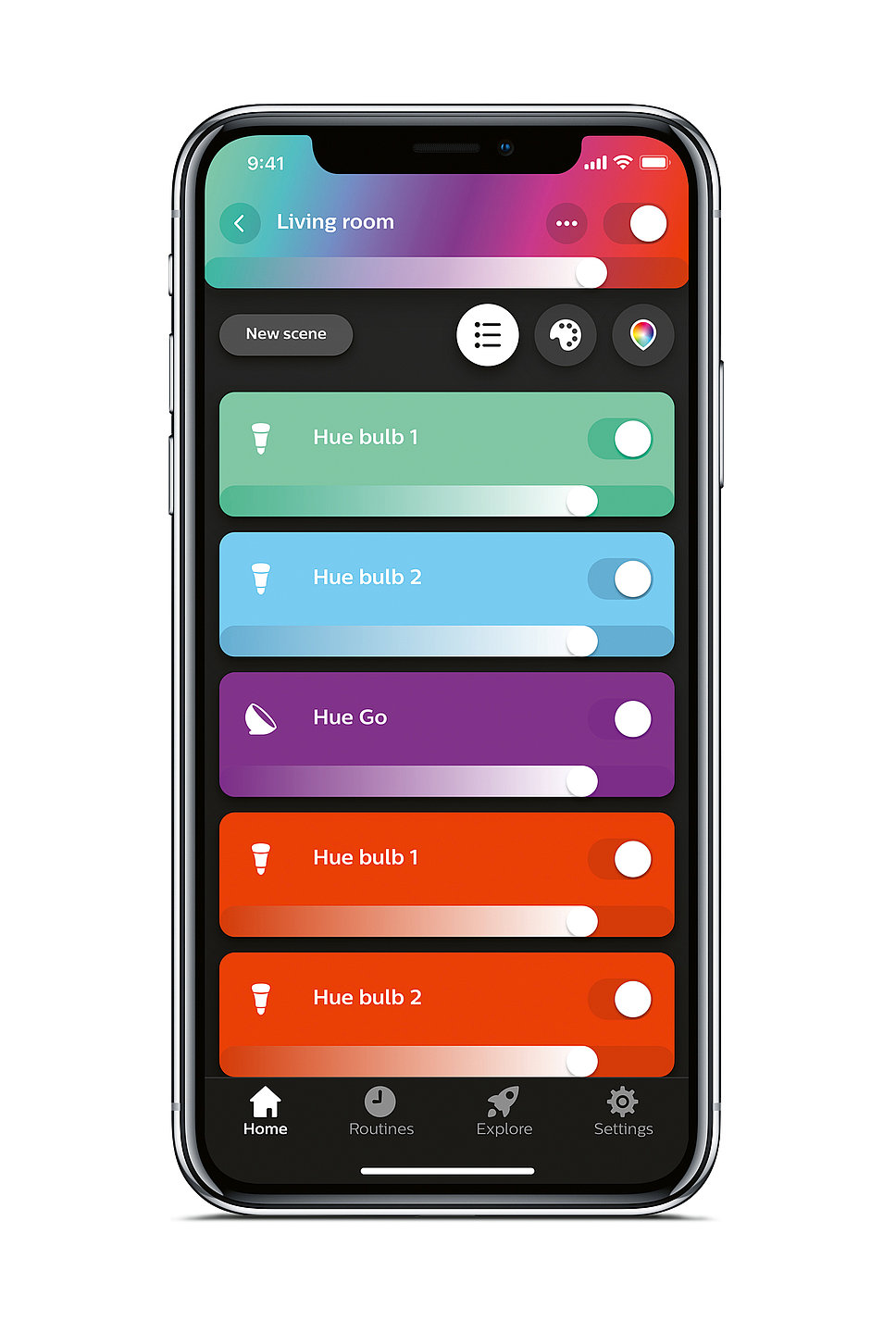 Philips Hue App 3.0 | Red Dot Design Award