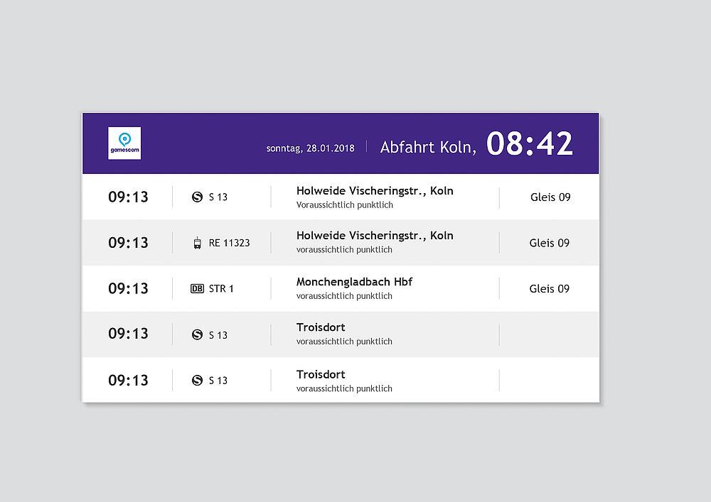 Koelnmesse Digital Signage System | Red Dot Design Award