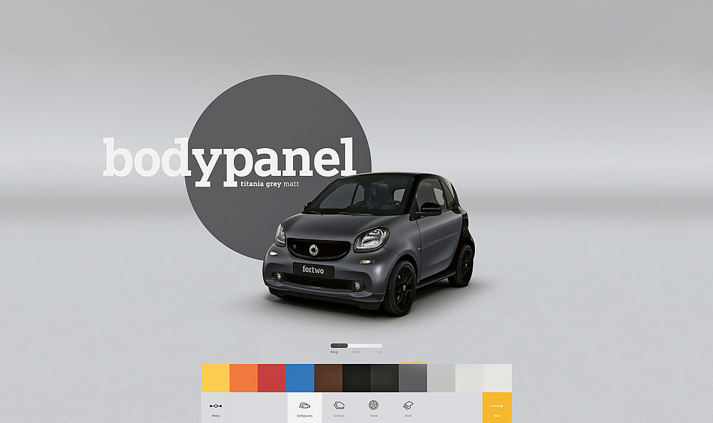 smart – Premium Automotive Retail Experience | Red Dot Design Award