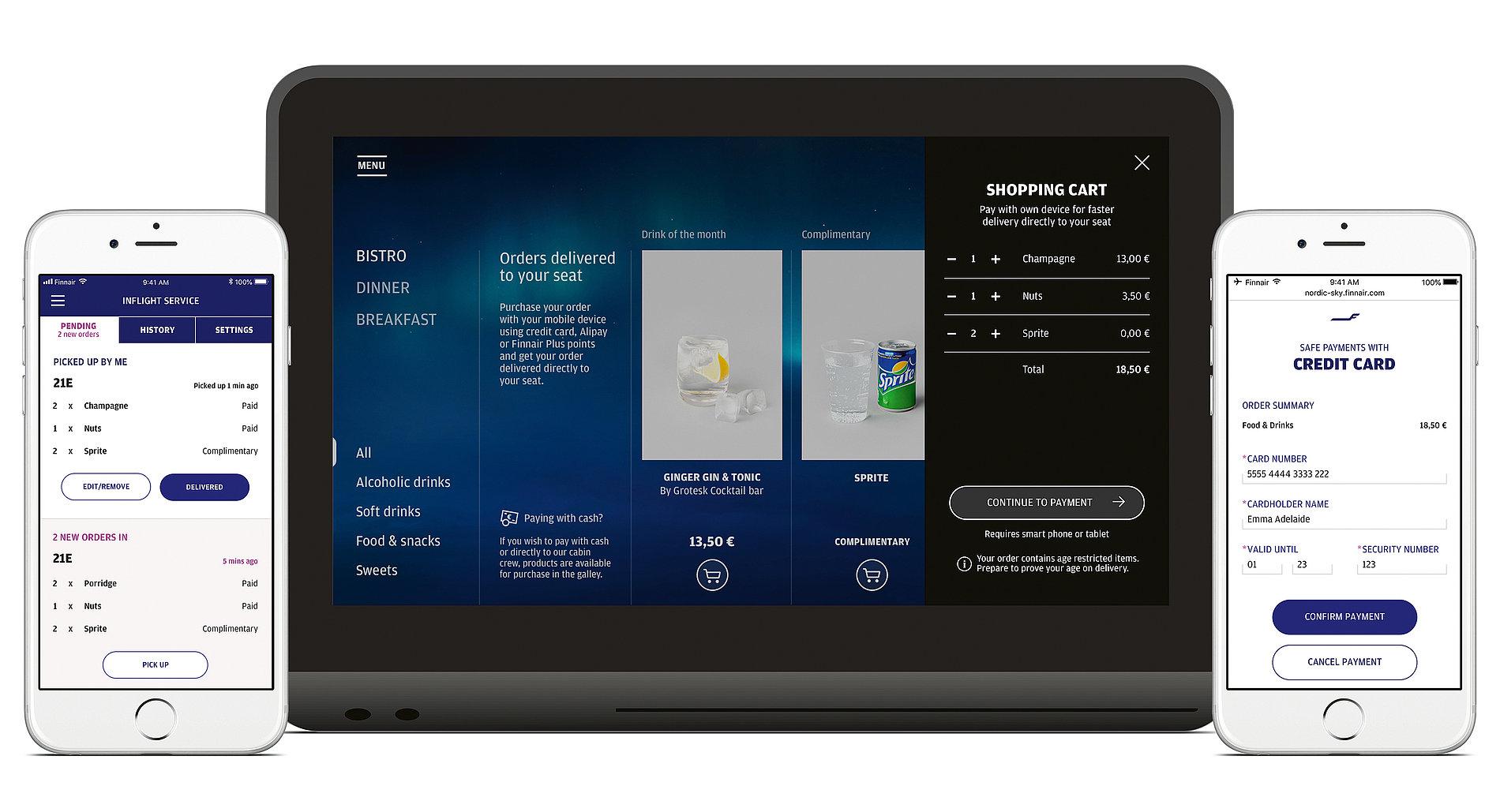 Finnair – Onboard Service Platform | Red Dot Design Award