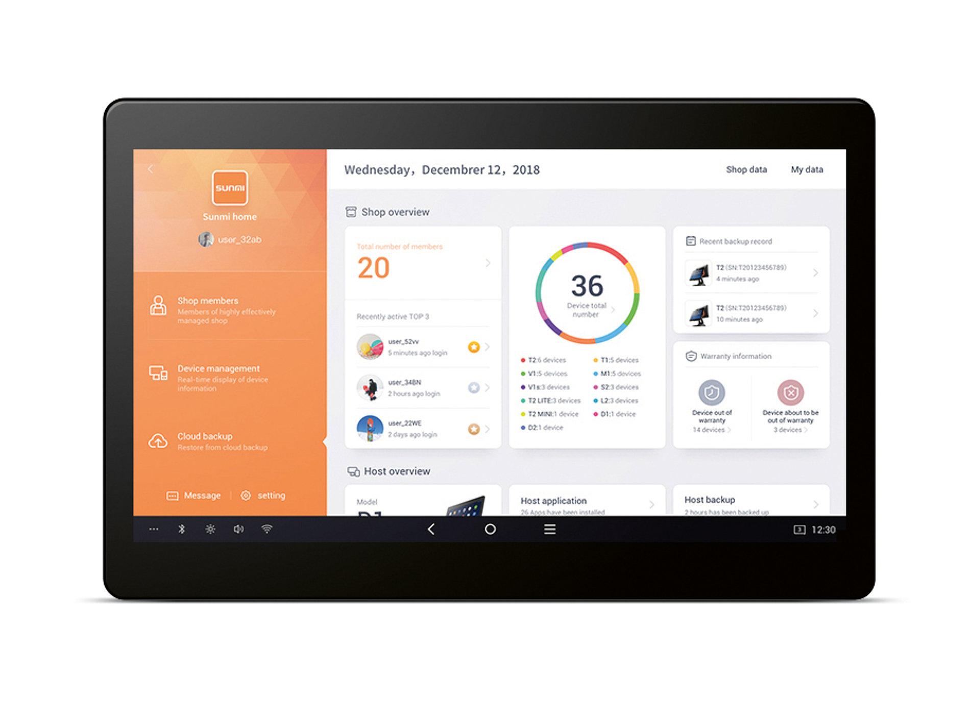 Sunmi OS | Red Dot Design Award