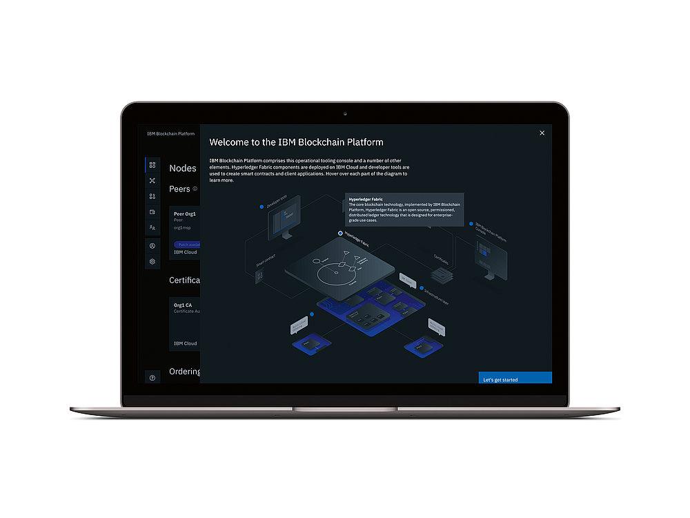 IBM Blockchain Platform | Red Dot Design Award