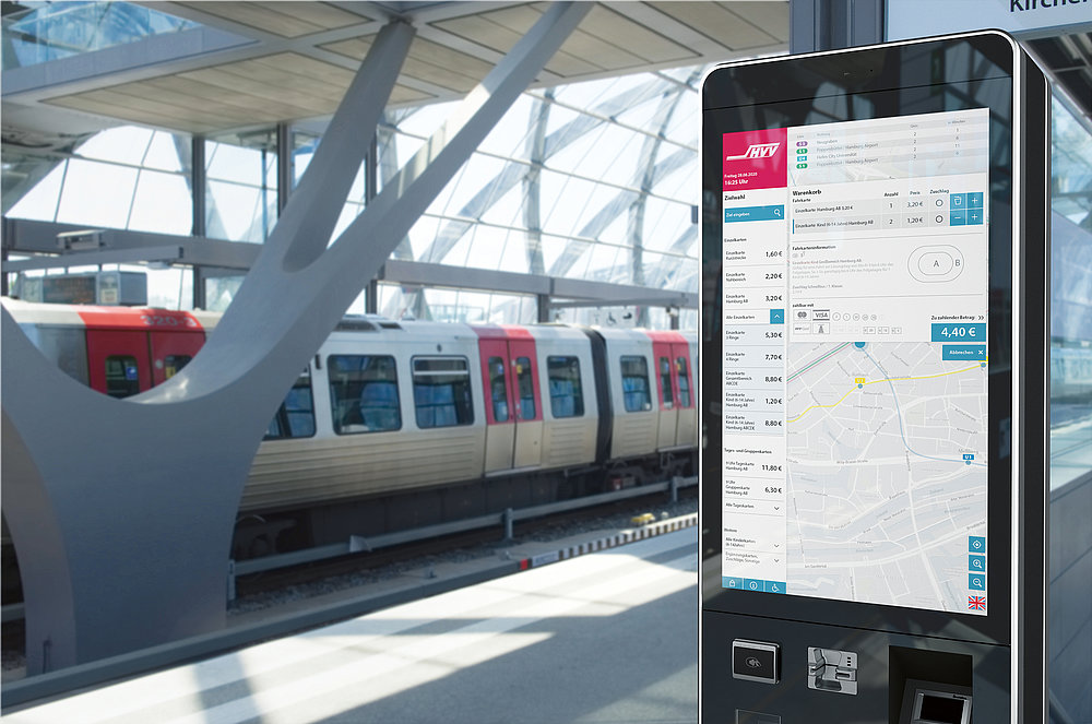 Hamburger Hochbahn – Ticket Vending Machine | Red Dot Design Award