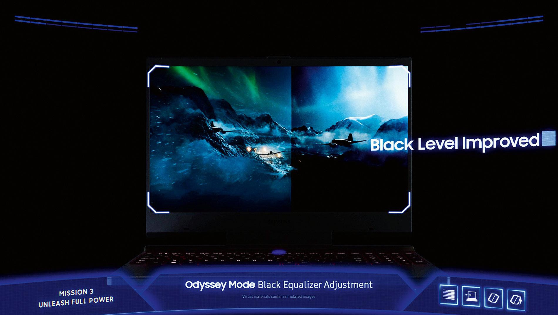 Samsung Notebook Odyssey | Red Dot Design Award