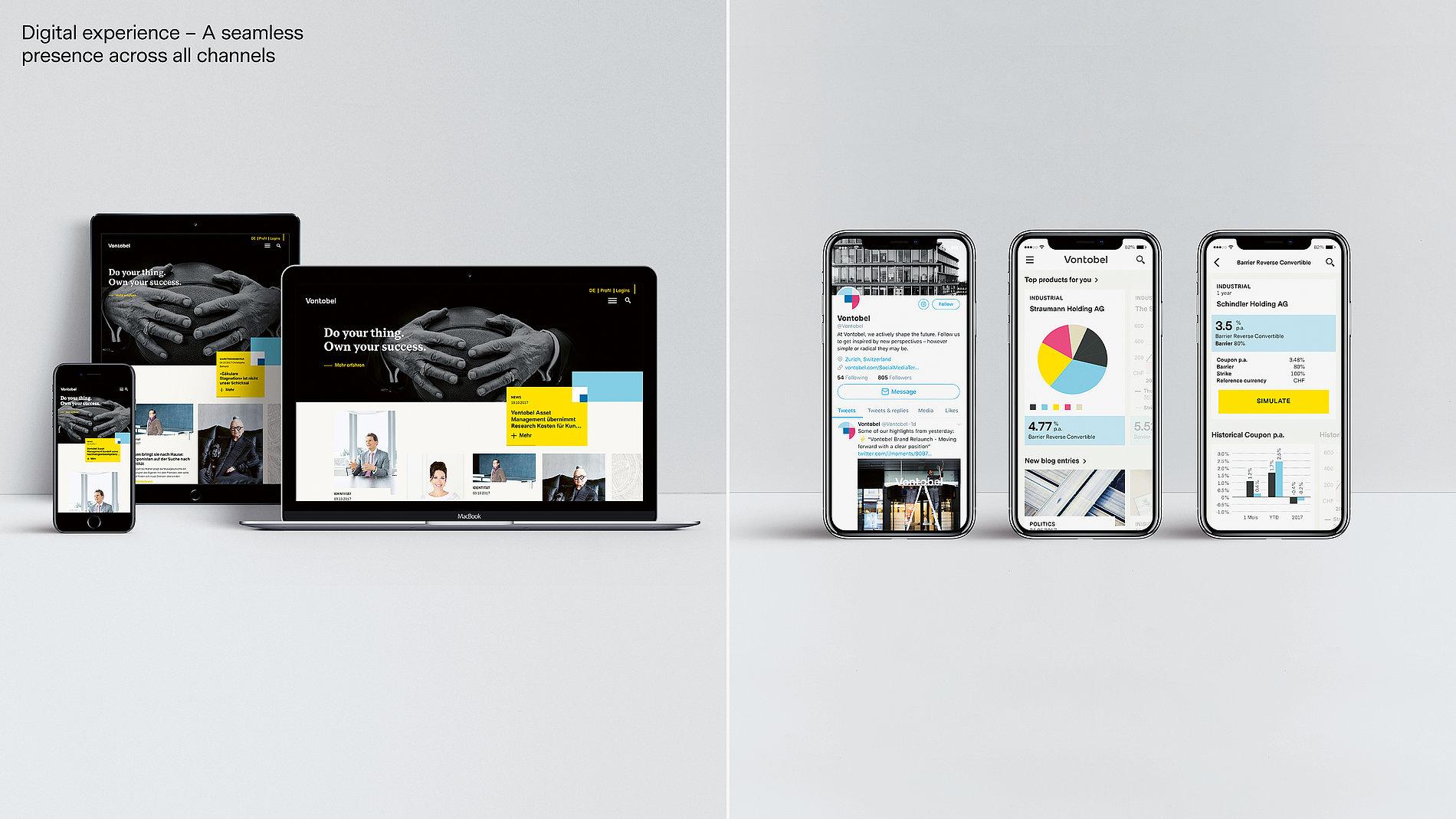 Vontobel | Red Dot Design Award