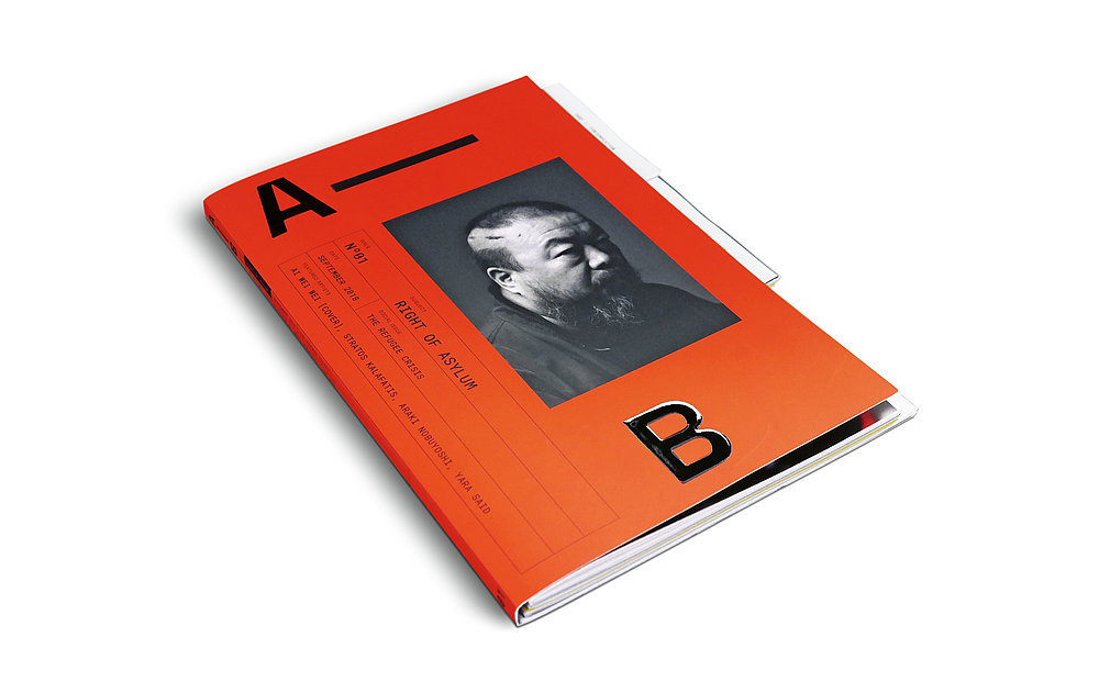 A–B Magazine Issue No. 1 – Right of Asylum | Red Dot Design Award