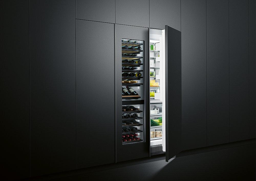 Column Refrigeration, Freezer and Wine Cabinets   Red Dot Design Award