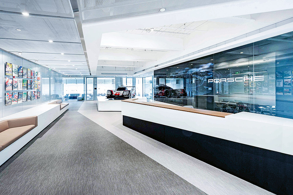 Porsche China Headquarters | Red Dot Design Award