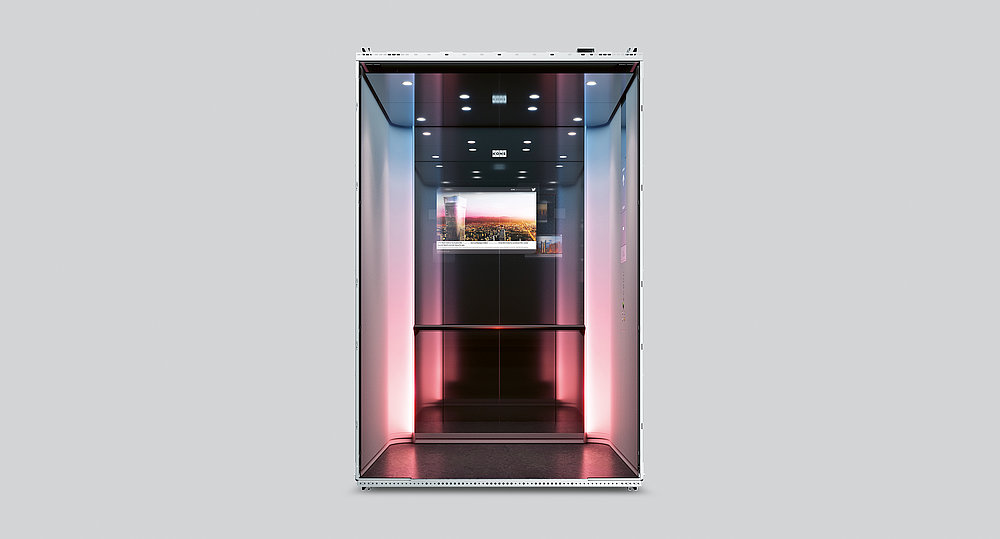 KONE DX Class Digital Experience Elevator | Red Dot Design Award